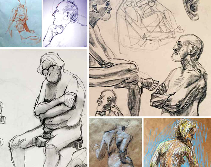 Life Drawing Group Show